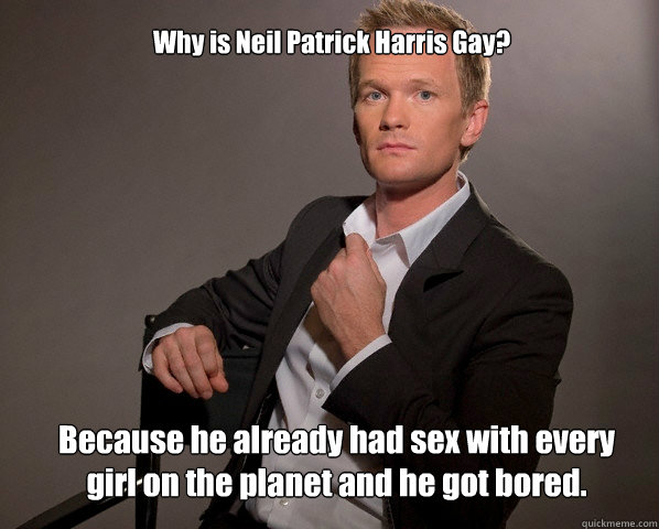 Why Is Neil Patrick Harris Gay?