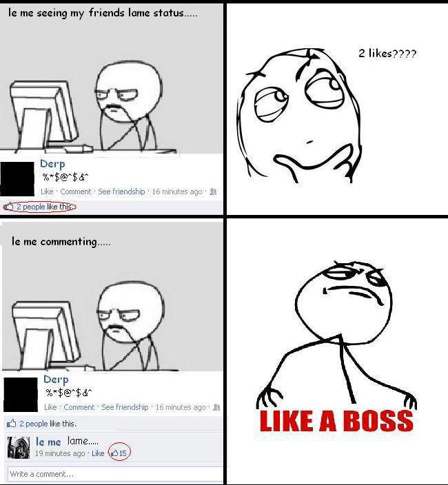 Comment Like a Boss
