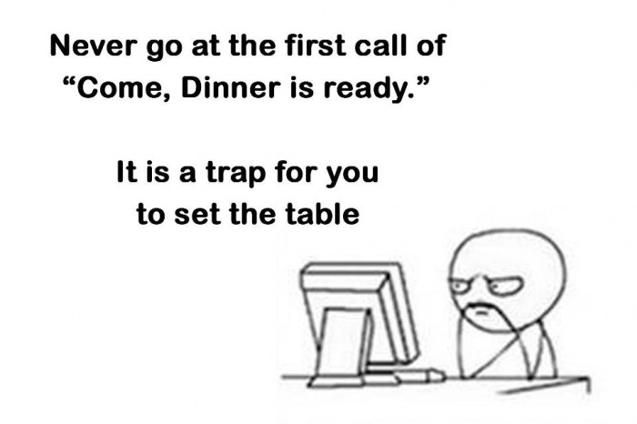 Dinner Table Trap