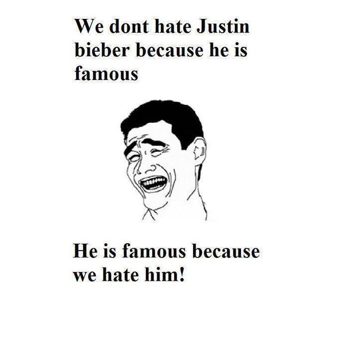 Why People Hate Justin Bieber
