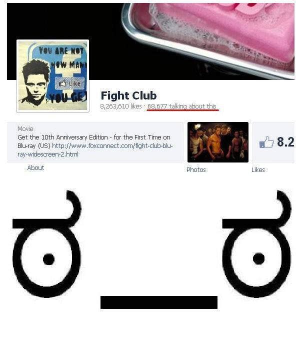 The First Rule Is You Do Not Talk About Fight Club