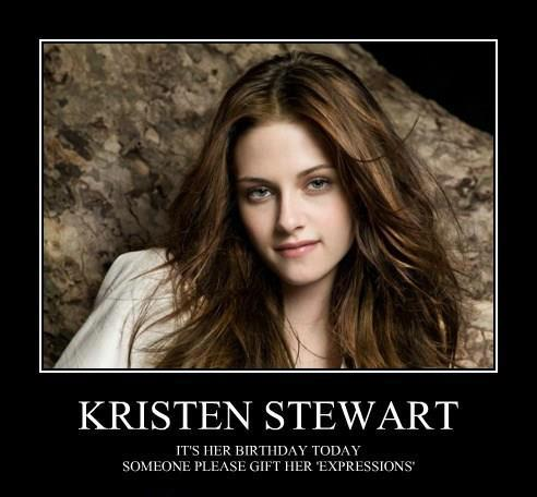 Happy birthday kristen stewart