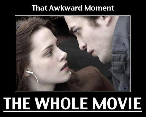 Awkward Moment - Twilight