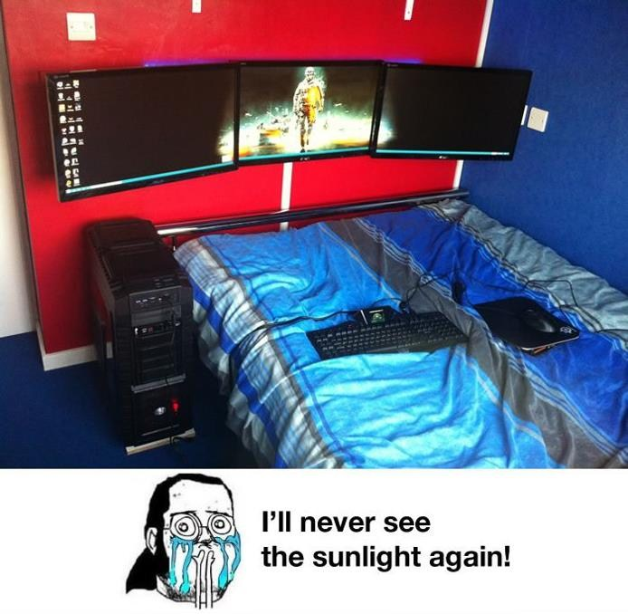 I Will Never See The Sunlight Again
