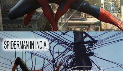 Spiderman in India