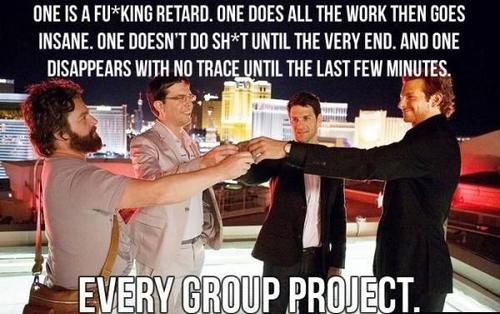 Story of Every Group Project