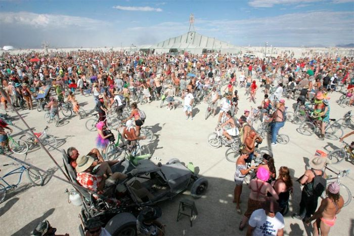 Burning Man  Festival 2012