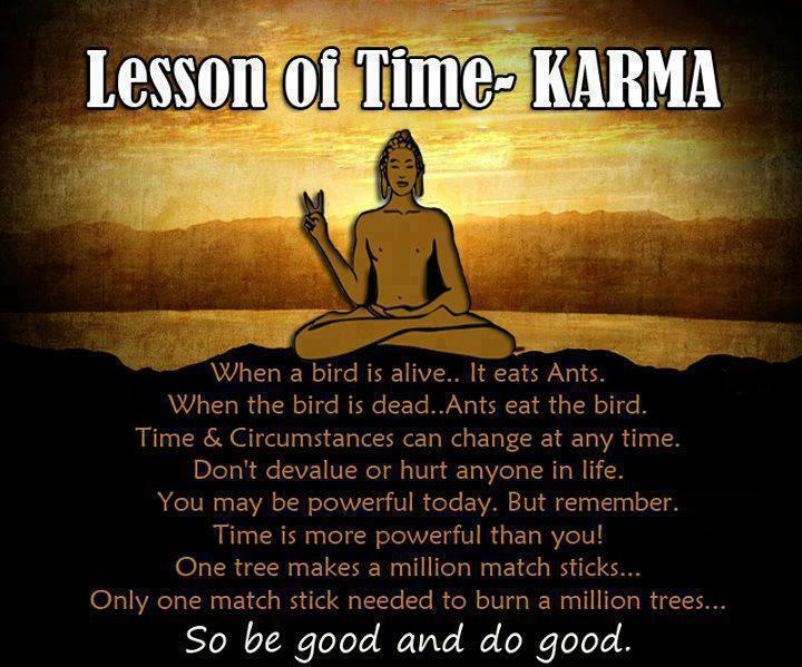 Lesson of Karma