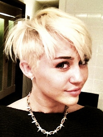 Miley Cyrus Latest on Miley Cyrus New Hairstyle  Best Photos
