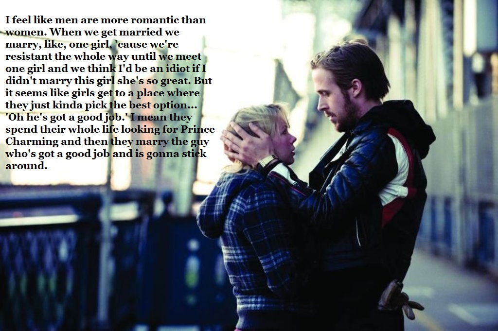 Men Are More Romantic Than Women - Blue Valentine