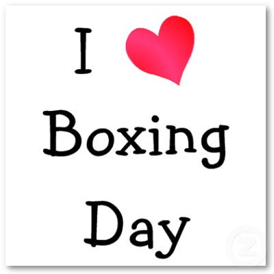 What is Boxing Day